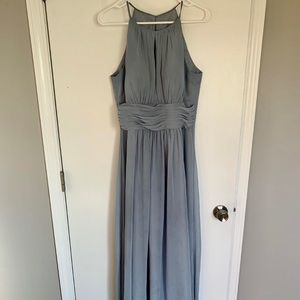 Azazie Dusty Blue Dress